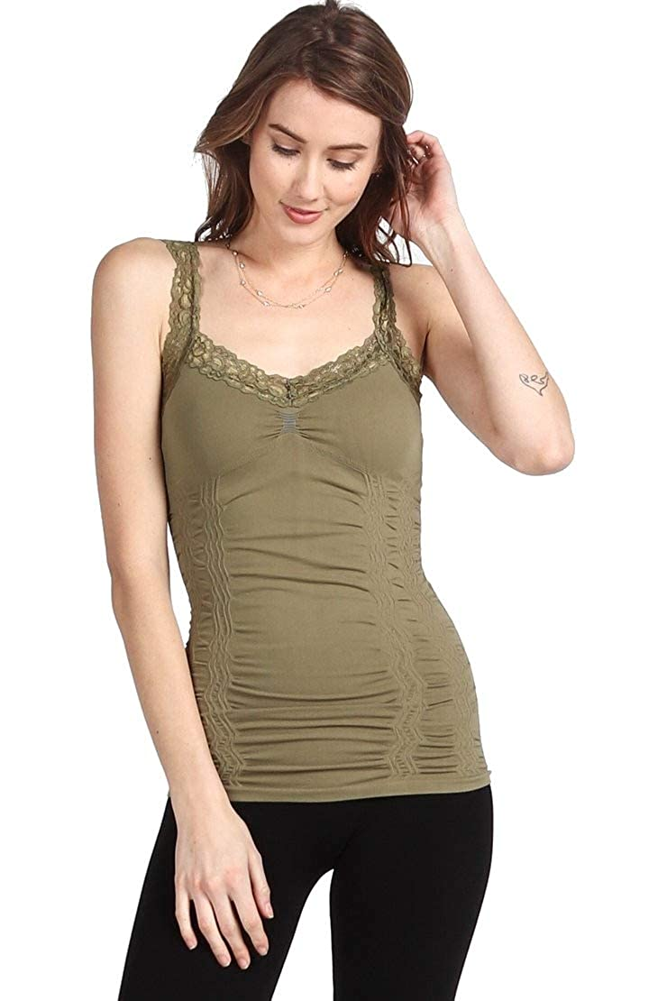 Rena Womens Lace Camisole Tank Top M