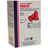 Howard Leight MAX1-D Earplugs Refill For Dispenser Bulk Pack of 500 pairs/box