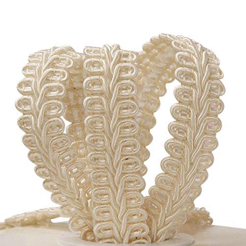 Ivory Gimp Braid Trim, 5/8 X 10yd 5/8 X 10yd Paper Mart 4337027928