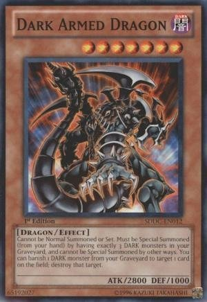 Yu-Gi-Oh! - Dark Armed Dragon (PGLD-EN064) - Premium Gold - Unlimited Edition - Gold Rare by Yu-Gi-Oh! (Dark Armed Dragon Gold)