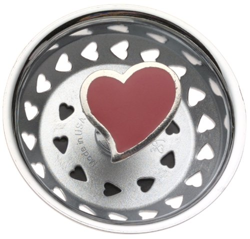 (Enamel Kitchen Strainer Red Heart )
