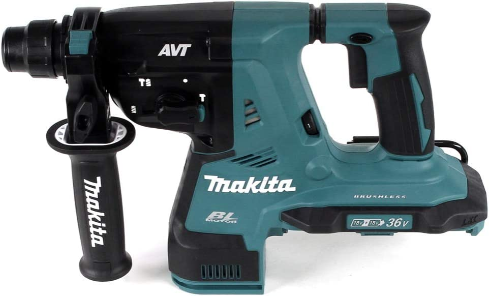 Ohne Ladeger/ät Makita DHR280Z Bohrhammer 28 mm Brushless 2 x 18 V 36 V Li-ION f/ür SDS-Plus Solo Akku