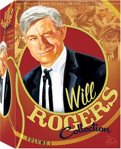 DVD : Will Rogers Collection 1 (Full Frame, Black & White, 4 Disc, Sensormatic)