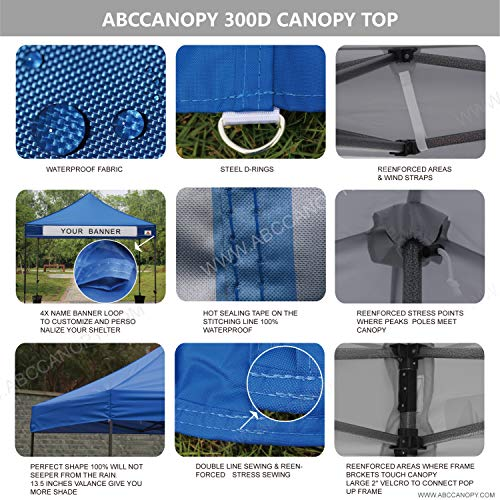 Abccanopy 10 X 10 Waterproof Replacement Of Canopy Tent