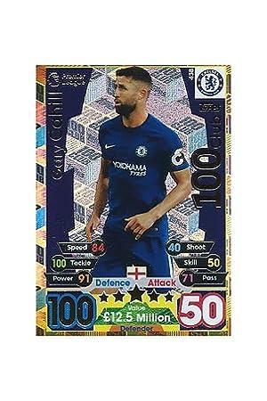Match Attax 2017/2018 17/18 100 (100) Club tarjeta de Gary ...