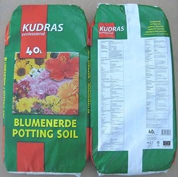 1 Palette 60x40L Kudras Universal Blumenerde Pflanzerde Gartenerde Topferde