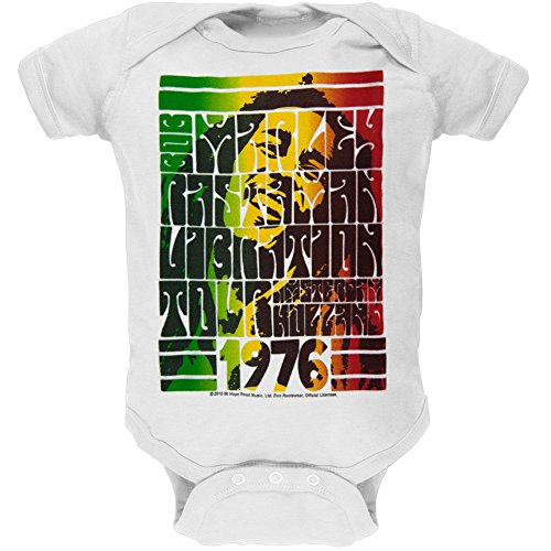 Bob Marley - Rasta Vibration 1976 Tour Baby One Piece - 9-12 months