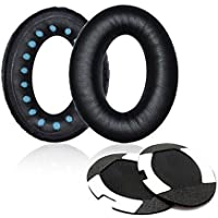 ITIS Replacement Earpad ear pad Cushions For Bose QuietComfort 2 QC2,QuietComfort 15 QC15,QuietComfort 25 QC25, QuietComfort 35 QC35, SoundTrue,AE2, AE2i , AE2w Headphone With IT IS Headphone Cable Cord Clip