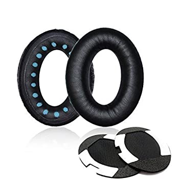 Itis Replacement Earpad Cushions Compatible For Bose Quietcomfort 2 Qc2,quietcomfort 15 Qc15,quietcomfort 25 Qc25, Quietcomfort 35 Qc35, Soundtrue,ae2, Ae2i, Ae2w Headphone With Itis Headphone Cable Clip 0