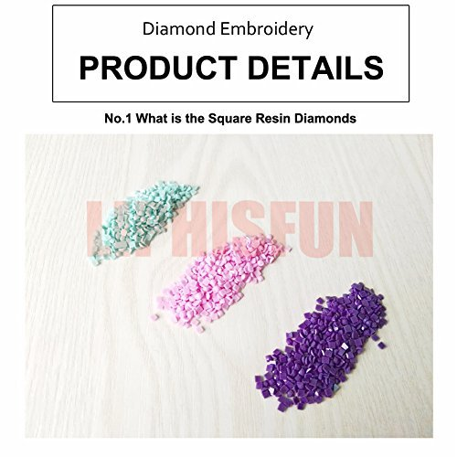LIPHISFUN Diamond Painting Kits for Adults Full Drill Square Resin Rhinestone Embroidery Unfinished Cross Stitch Home Decor Gift Train 30x40cm