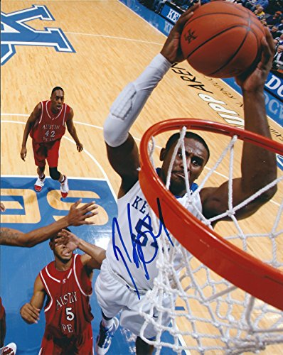 Autographed Patrick Patterson Kentucky Wildcats 8x10 Photo -