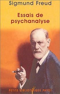 Essais de psychanalyse par Freud