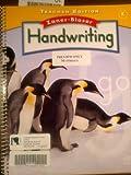 img - for Zaner Bloser Handwriting Grade K - Teacher Edition book / textbook / text book