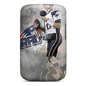 Samsung Galaxy S3 Mlt11765GROj Unique Design Vivid New England Patriots Series Protector Hard Phone Cases -LeoSwiech