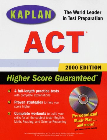 KAPLAN ACT 2000 WITH CD-ROM
