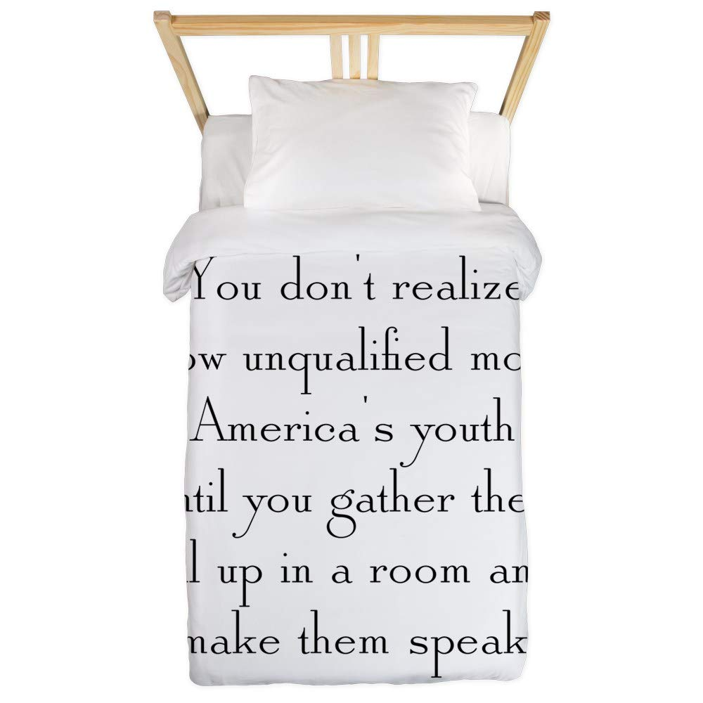 CafePress America's Youth Twin Duvet Twin Duvet Cover, Printed Comforter Cover, Unique Bedding, Microfiber by CafePress (Image #1)
