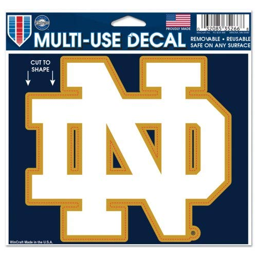 NCAA Notre Dame Multi-Use Decal, 4.5