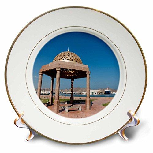 Danita Delimont - Oman - Muttrah Corniche, Muscat, Oman. - 8 inch Porcelain Plate (cp_225951_1)