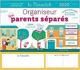 Amazon.fr   Organiseur Parents Separes Memoniak 2019 2020   Chiodo