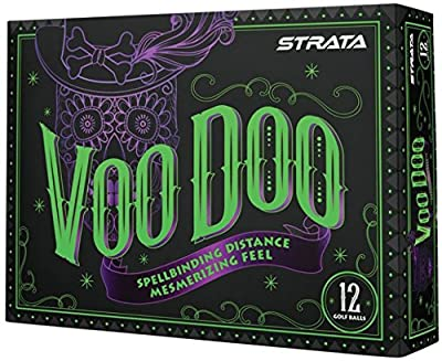 Strata 2018 Voodoo Golf Balls (One Dozen) by Callaway Golf
