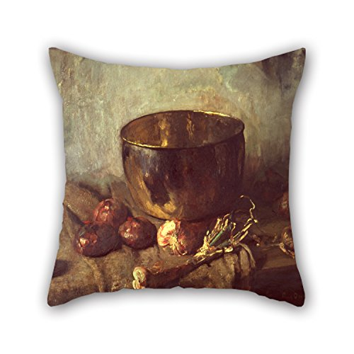 Uloveme 16 X 16 Inches / 40 By 40 Cm Oil Painting Frans Oerder - Still-life Christmas Pillowcase Twice Sides Is Fit For Relatives Boys Pub Boy Friend Kids Boys Father -