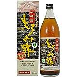 新里酒造 沖縄産 もろみ酢 無糖 900ml ×2セット