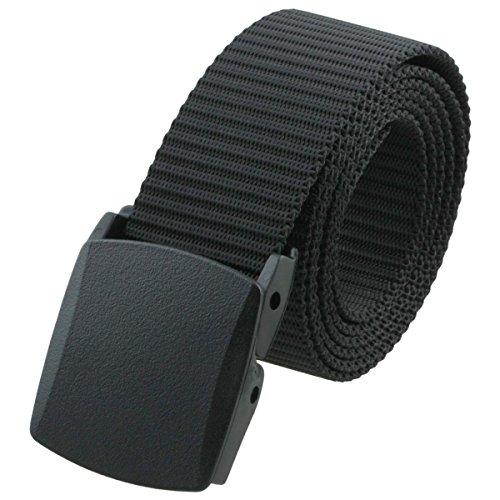 squaregarden Men's Nylon Webbing Military Style Tactical Duty Belt - stylishcombatboots.com