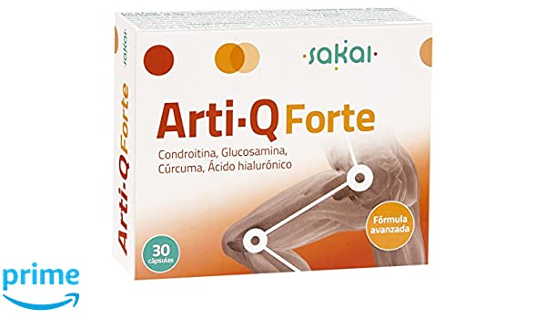 Sakai Arti-Q Forte Complemento Alimenticio - 30 Cápsulas: Amazon.es: Salud y cuidado personal
