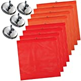 Vulcan Brands Heavy Duty Magnet Kit with Wire Loop Flags