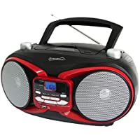 Supersonic Portable Mp3/Cd Player With Usb/Aux Input& Am/Fm Radio