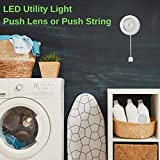 Atron Push Lens or Pull String On/Off LED Utility