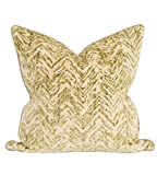 Howard Elliot 3-579F 24 x 24 in. Davida Kay Savile Willow Pillows - Down Insert