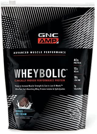 Protein & Meal Replacement: GNC Wheybolic