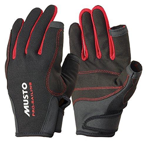 Musto Essential Sailing Long Finger Gloves BLACK AS0803 Sizes- - Medium
