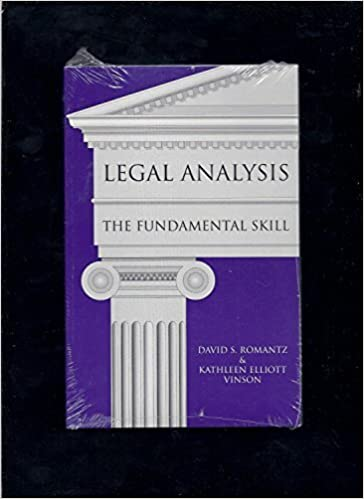 The Fundamental Skill Legal Analysis