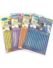 AYEVIN Bastões de limpeza de drenagem para manter drenos e tubos limpos e com bom cheiro, 4 pacotes (48 saltos) em quatro aromas.