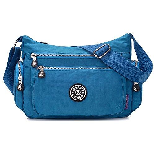 de deportes ocio mujer Blue Bolso día bolso mujer de SUZone de Stars Sea nailon Azul bandolera hombro de Bolso bolso qxHPwvx