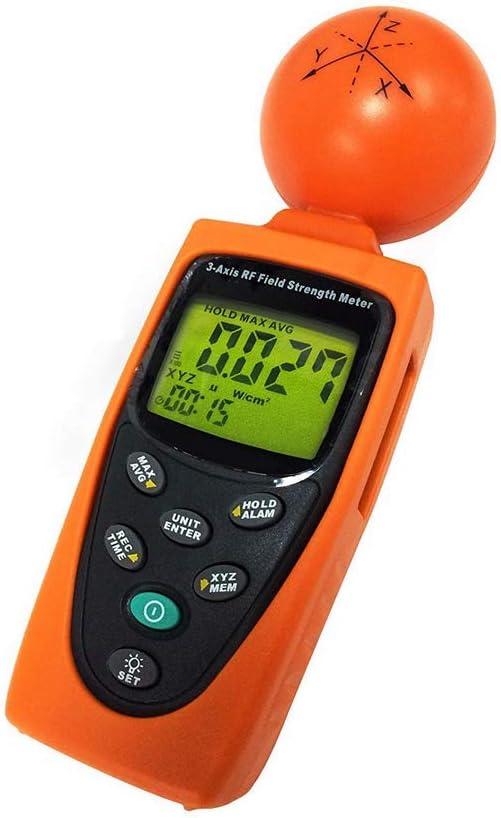 5 x 1 x 3 pulgadas medidor de Gauss ELF y VLF EMFields Medidor de potencia de bolsillo PF5 frecuencia para uso dom/éstico: medidas de campos el/éctricos y magn/éticos