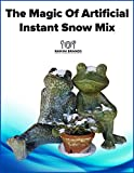 SnoWonder Instant Artificial Snow One Gallon Mix - Bonus Projects eBook - Home Decor - Seasonal Accents - Classroom Science Projects (2)