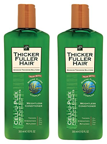 Thicker Fuller Hair Weightless Conditioner, 12 fl oz , 2 Count by Thicker Fuller Hair (Image #1)