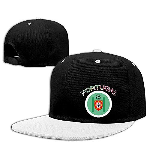 [Custom Unisex-Adult Euro 2016 Final Portugal Championship 2 Flat Brim Baseball Hats White] (Hulk Hogan Costume Amazon)