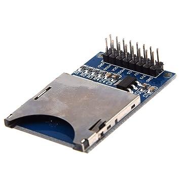 TOOGOO(R) 1pz Modulo de enchufe de tarjeta SD Lector de ...