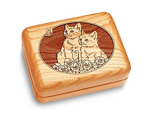 Heartwood Creations Music Box 4x3 - Kittens - Fur ()