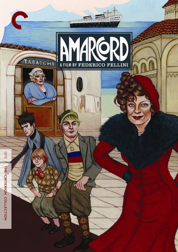 DVD : Amarcord (criterion Collection) (Subtitled, Dolby, Widescreen, 2PC)
