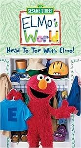Elmo's World - Head to Toe With Elmo [VHS]