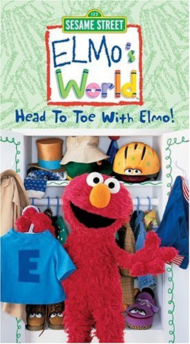Elmo S World Head To Toe With Elmo Vhs Import It All