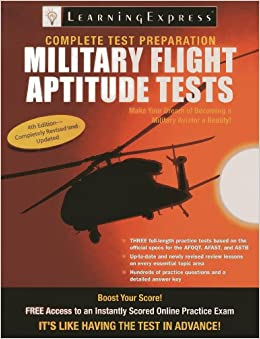 Military Flight Aptitude Tests Book Pdf