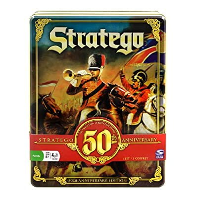 Stratego 50th Anniversary Tin from Spin Master Games