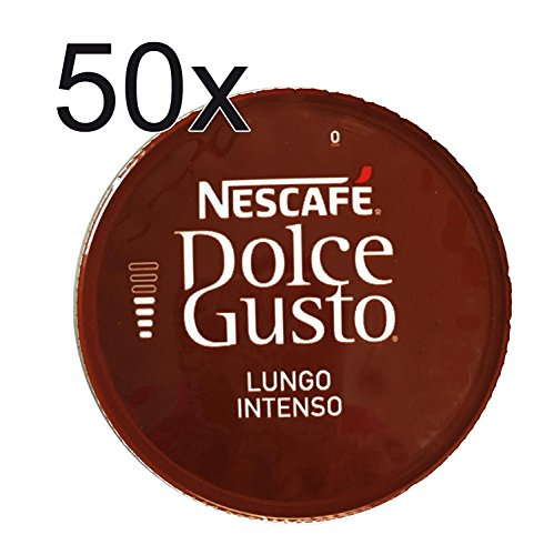 50 X Nescafe Dolce Gusto Coffee Capsules – LUNGO INTENSO Coffee Capsules For Sale