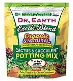 Dr. Earth Exotic Blend Cactus & Succulent Potting Mix 8 qt